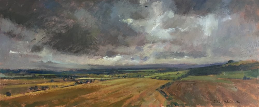 Heavy Clouds over the Vale of Pewsey