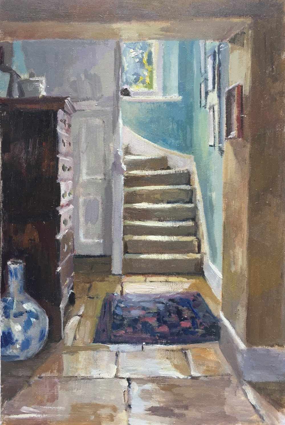 Interior with Stairs (SOLD)