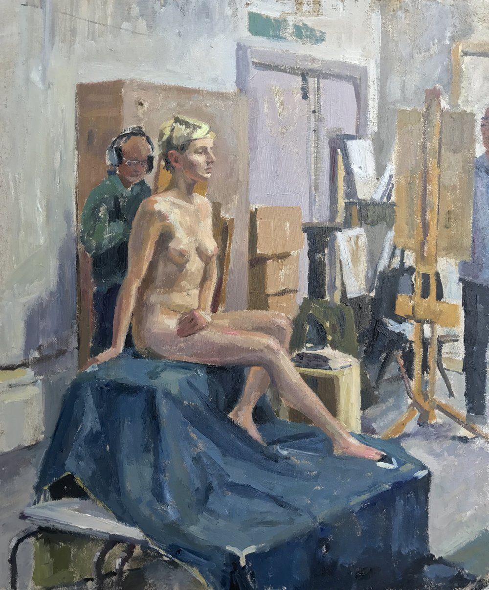 Nude in the Studio