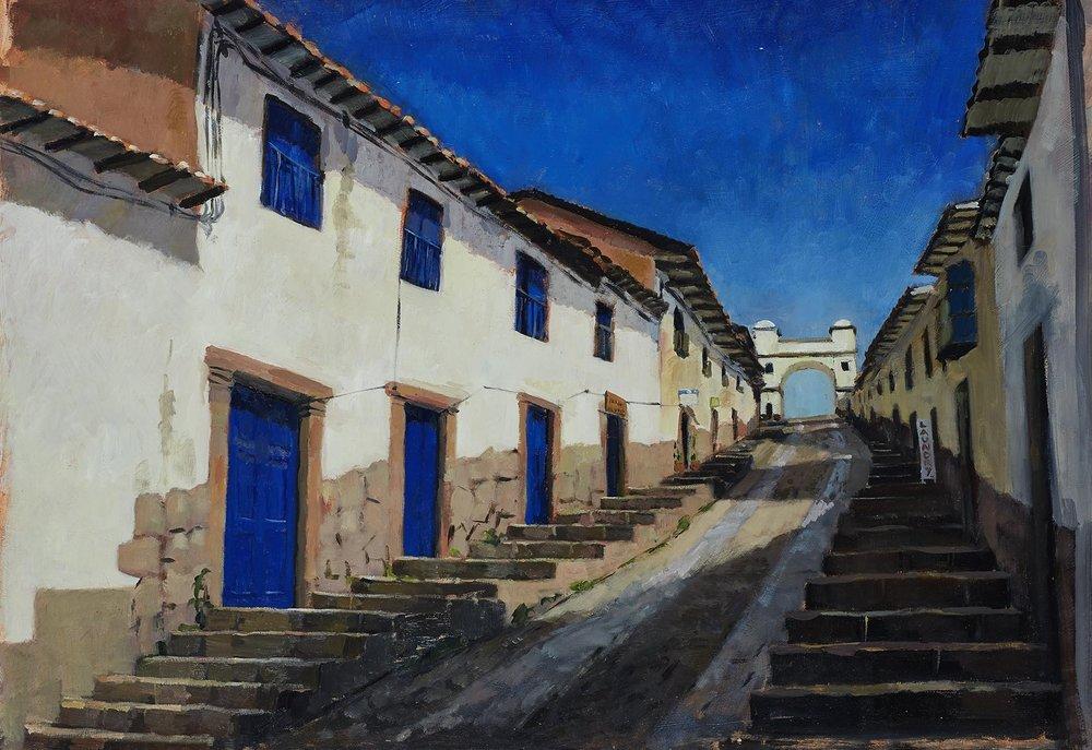 Cuesta de Sta Ana, Cusco, Peru