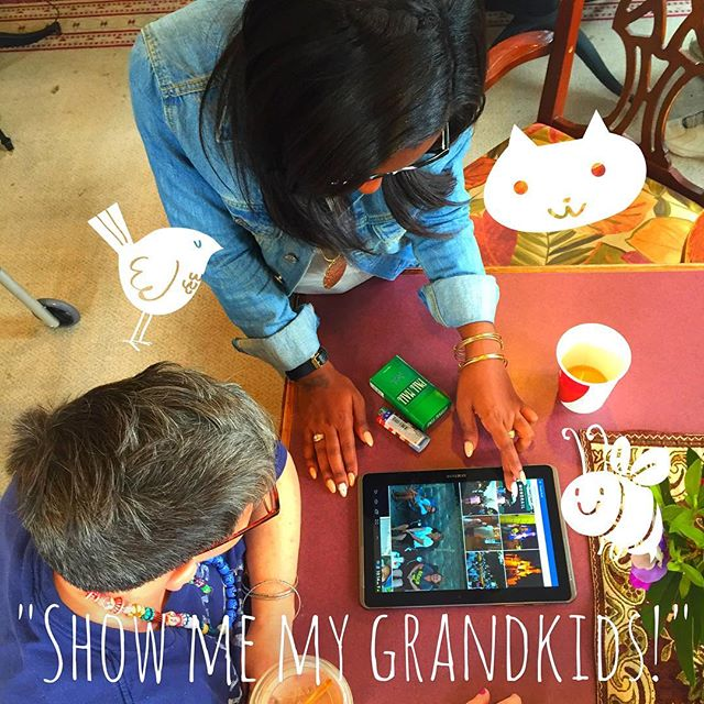 Judy gets Facebook to show off her adorable grandbabies to her friends at the senior home Kids: Don't forget to call grandma!  #family #friyay #boston #like4like #instagood #love #photooftheday #amazing #follow4follow #like4like #look #instalike #igers #picoftheday #instadaily #instafollow #bestoftheday #instacool