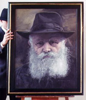 "Rebe, Oil on Canvas, 42""x 34"", 2009"