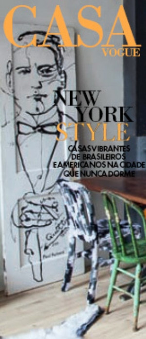 Cover of Print Edition of  Casa Vogue