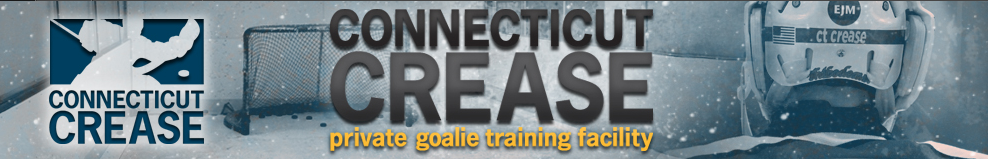 The Connecticut Crease is the longest-running private hockey goalie training facility in Connecticut. Established in 2002, and located at the Northford ice Pavilion in Northford, CT, the Connecticut Crease has developed an impressive clientele over the years, from beginners to goalies playing at NCAA Division 1 & 3 levels.