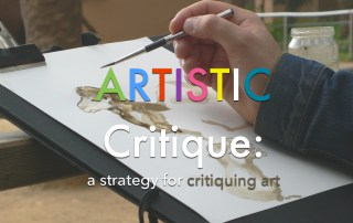 ARTISTIC a strategy for critiquing art