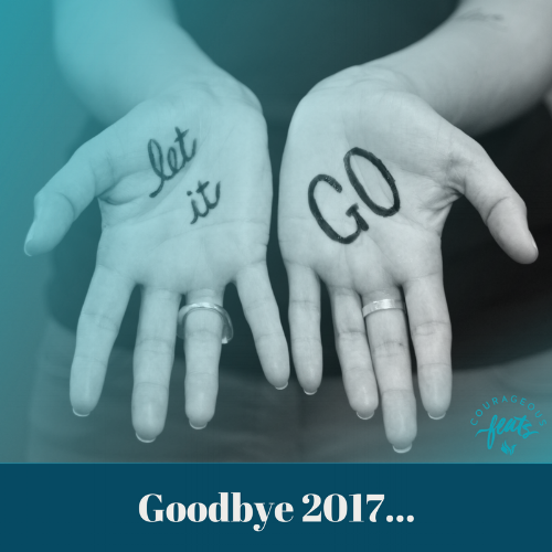 Letting Go; Goodbye 2017
