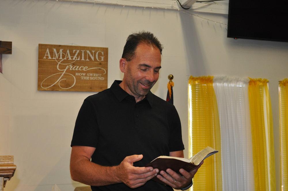 Worship Service10:00 AM Sundays - Reverend David BegueriePastor