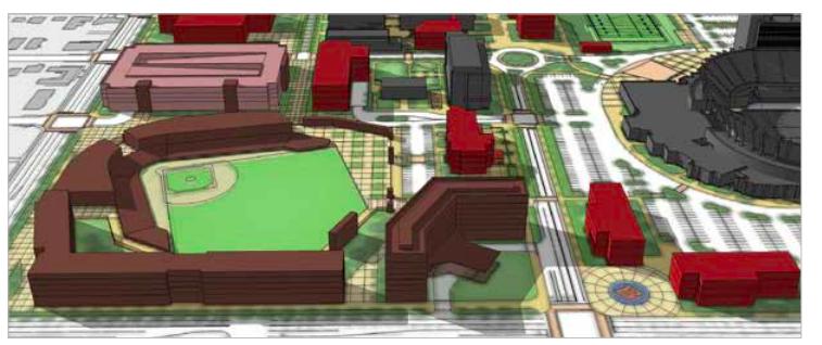 Boise State baseball stadium concept