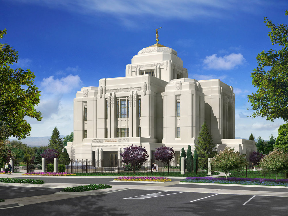 Rendering courtesy Church of Jesus Christ of Latter-day Saints