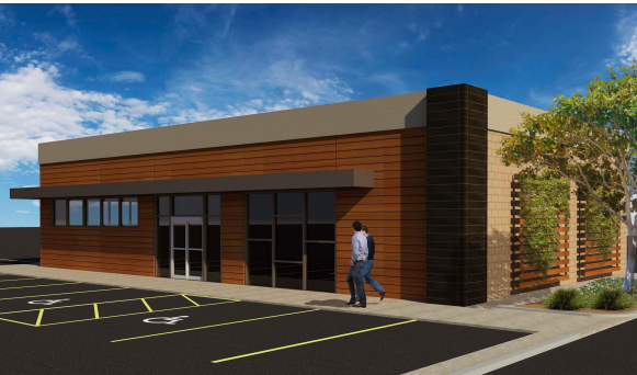 Fuel center rendering