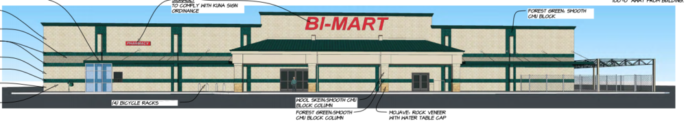 Rendering of new Kuna location, via City of Kuna