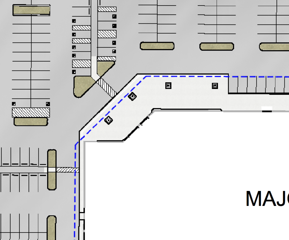 Looks like the corner of a Costco store. Walks like the corner of a Costco store...