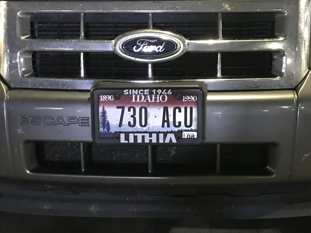 I Wonder: What\'s up with Centennial license plates... 27 years ...