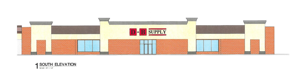 Local retailer D&B Supply is replacing a former Hastings/Sports Authority combo in SE Boise