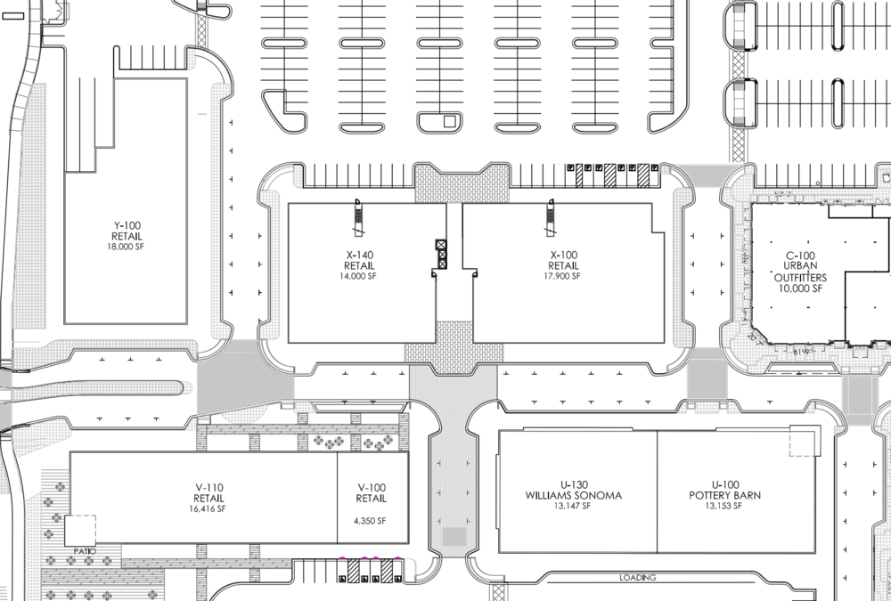 Screenshot of Village at Meridian Leasing plan showing future expansion