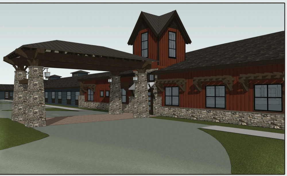 Rendering via Aspen Valley Senior Living
