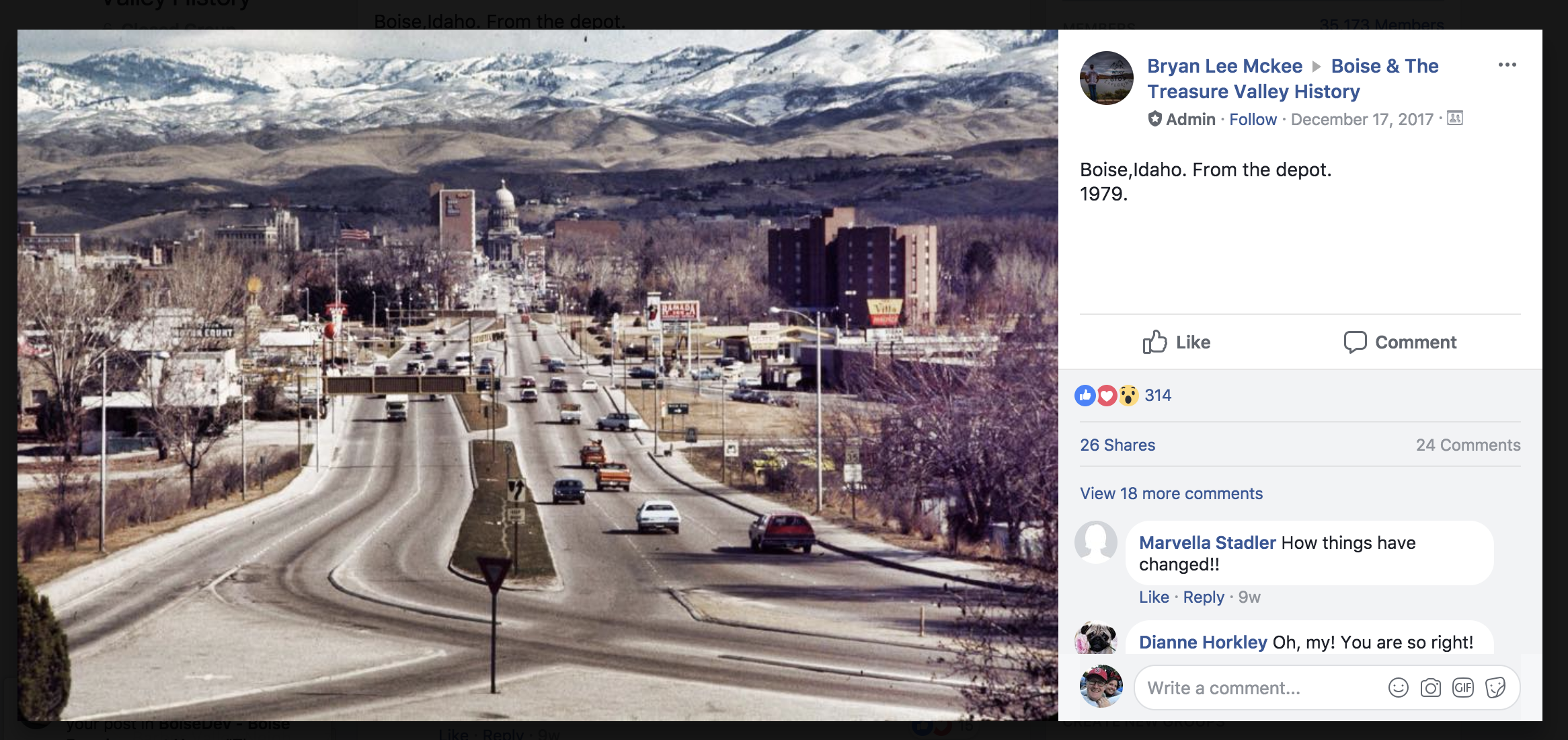 History now: Popular Facebook group chronicles a changing Idaho