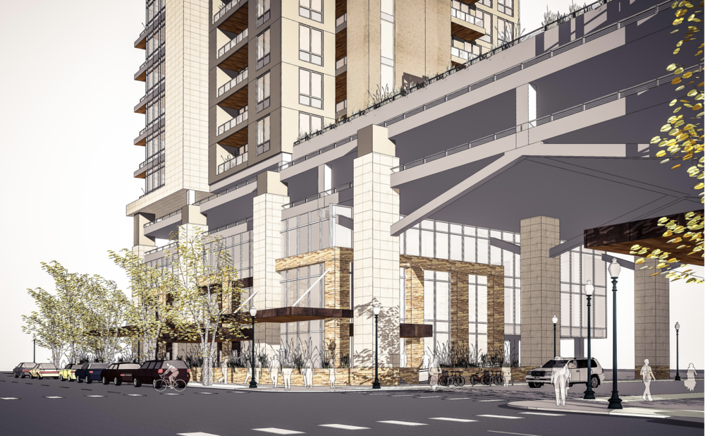 Project rendering via Hummel Architects