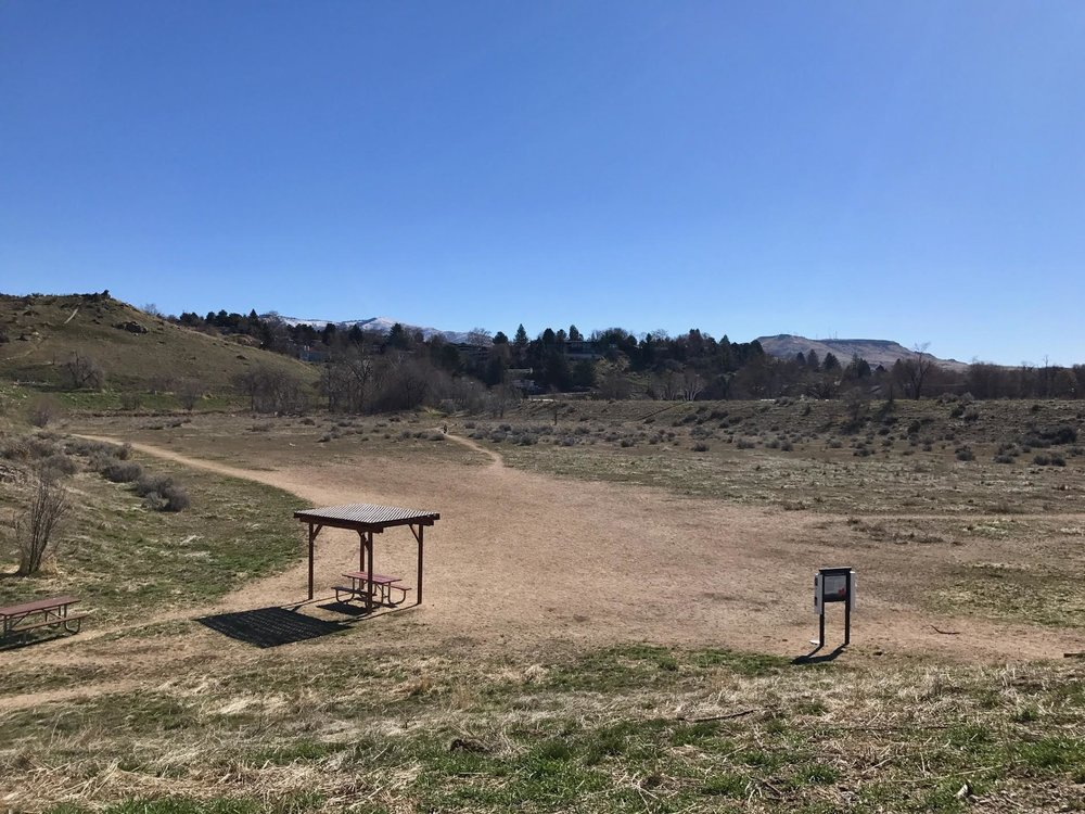 This field will soon be home to a bike skills park. Photo courtesy City of Boise.