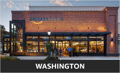 An Amazon Books store in Seattle. Photo via Amazon.