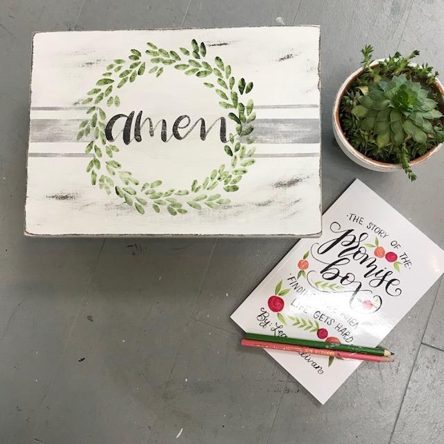 LARGE PROMISE/KEEPSAKE BOX | ED18