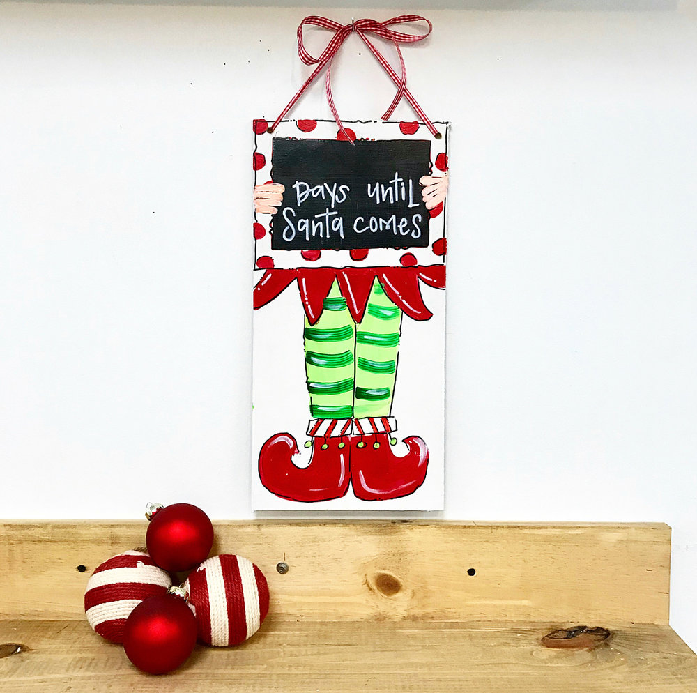 CHRISTMAS COUNTDOWN SIGN | K13