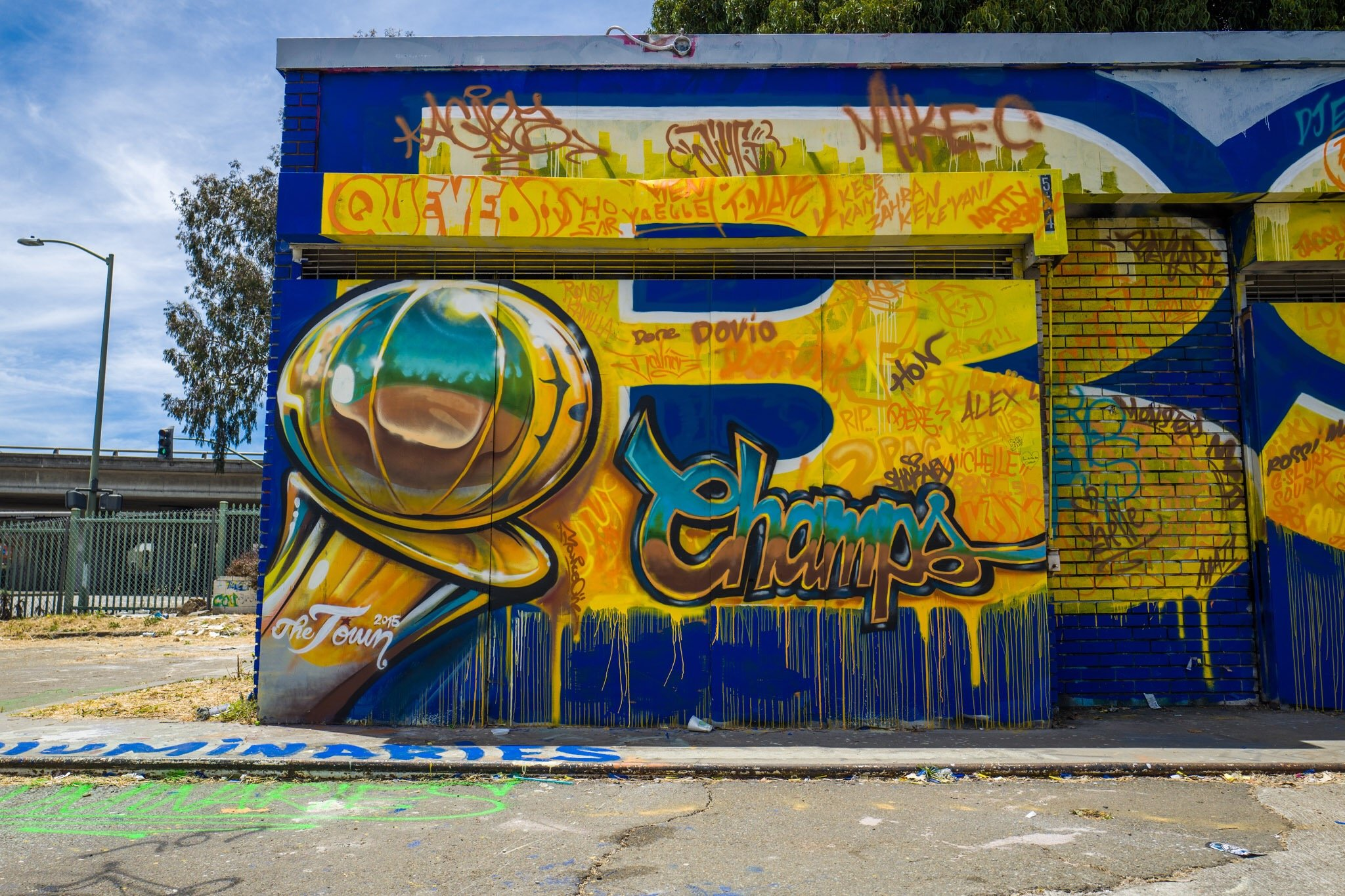 Curry Mural — TREVOR REX GAVIN