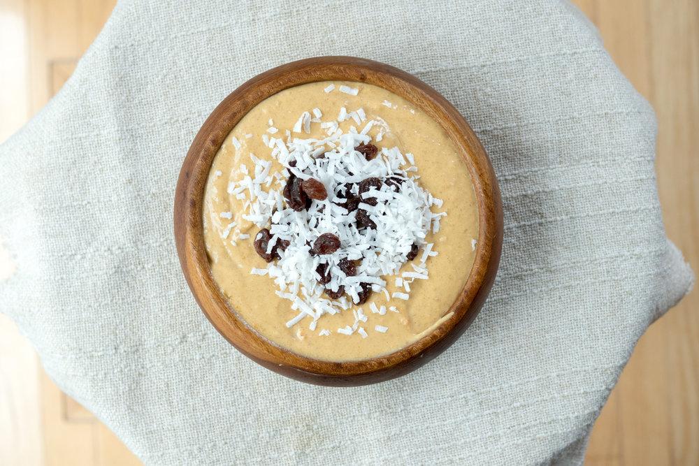 creamy butternut top view