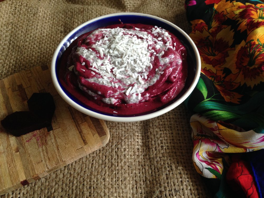heart-beet with scarf