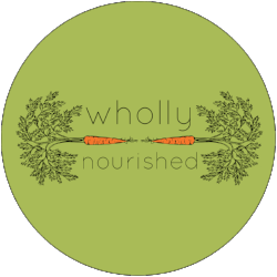 wholly nourished logo