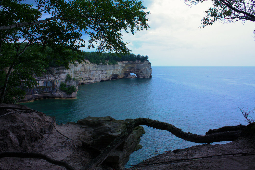 Grand Portal Point of Pictured Rocks National Lakeshore