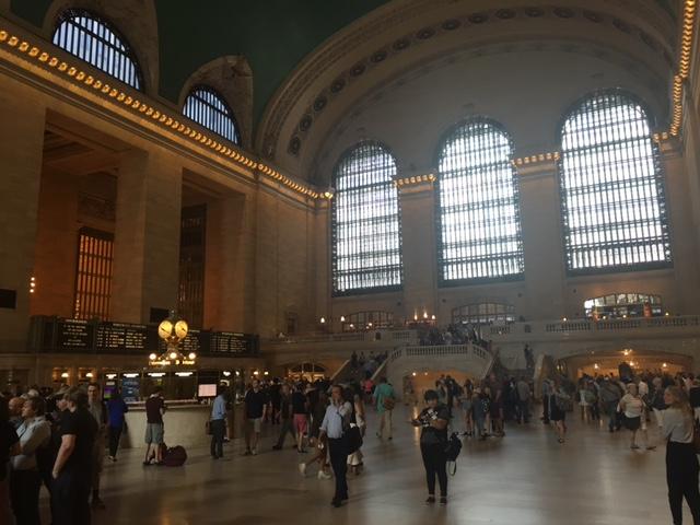 Main Concourse--Grand Central Train Station