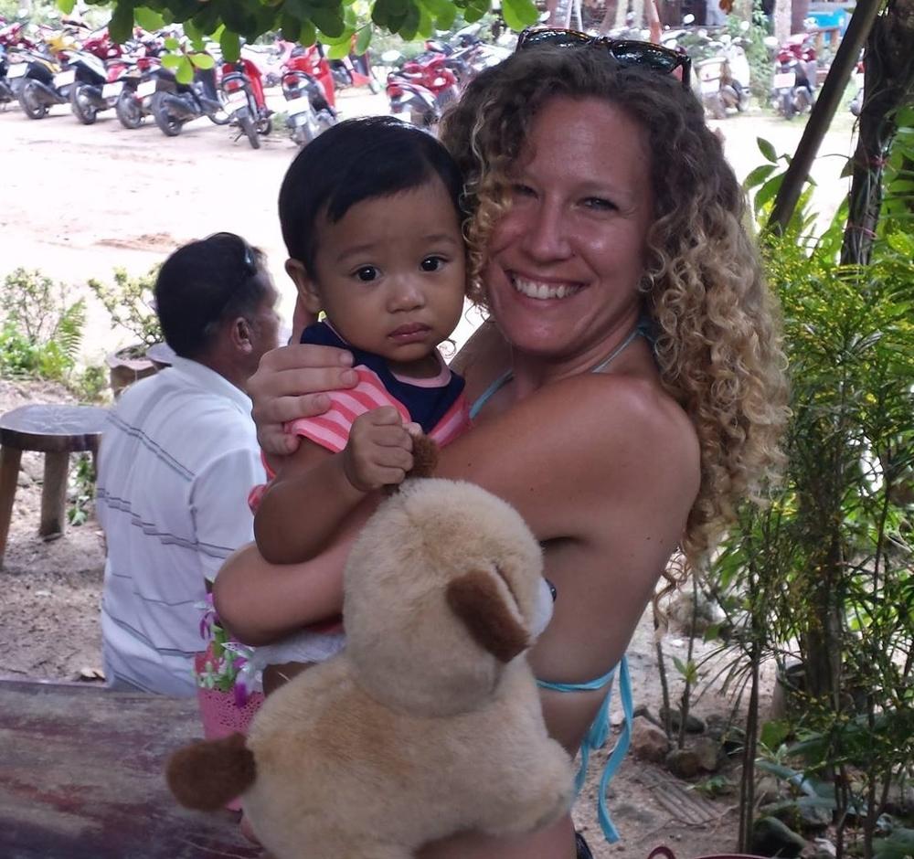 Gorgeous Thai Baby, Koh Pha Ngan, Thailand