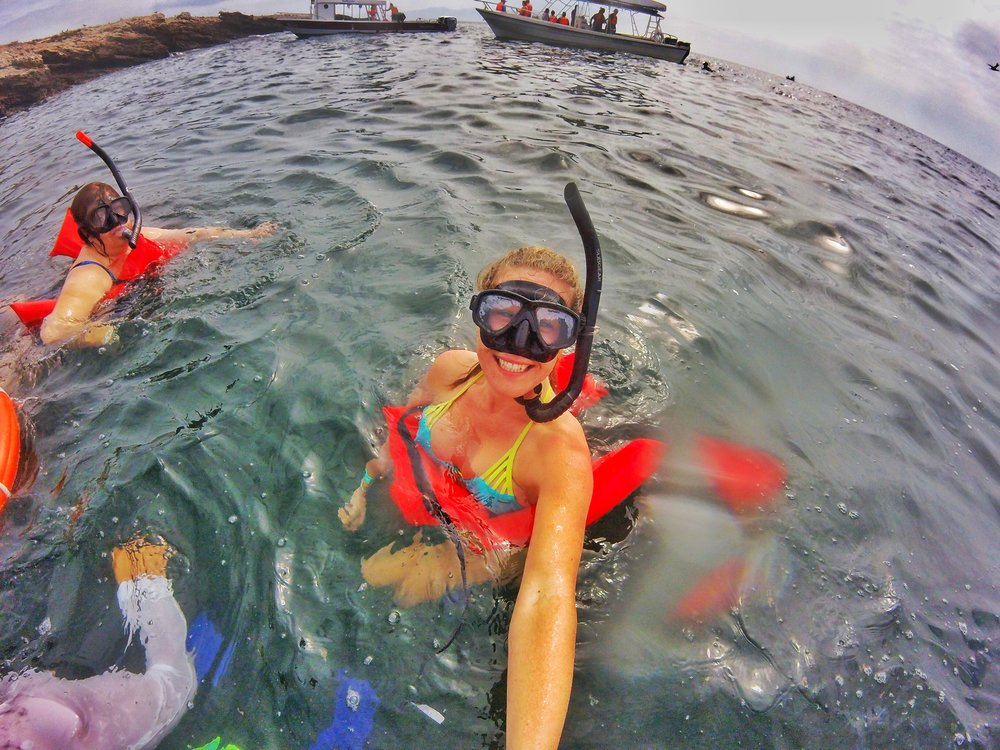 Snorkeling outside Los Marietas Islands, courtesy of Ecotours Vallarta