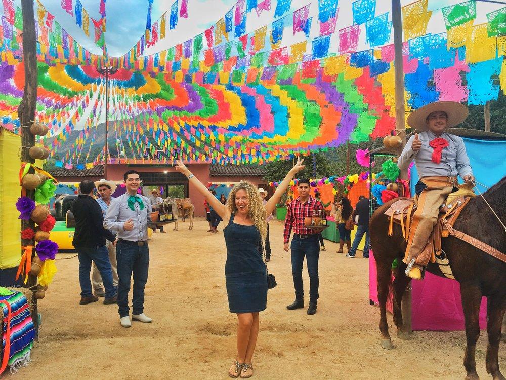 Fiesta en la Montana,  Canopy River , Puerto Vallarta, Mexcio