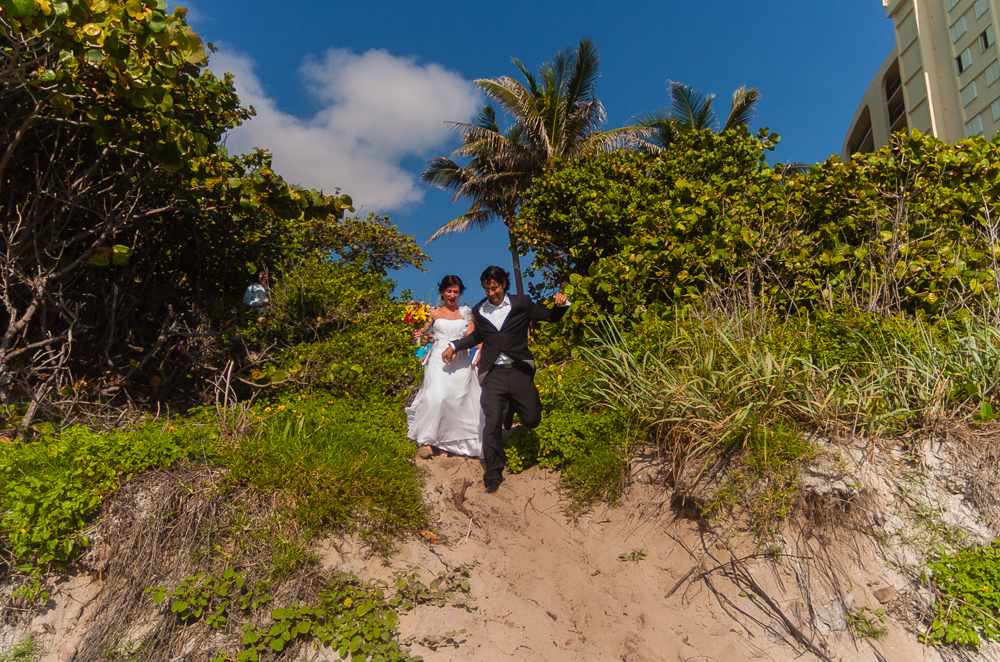 Kishton Morales Wedding, Jupiter Beach, Florida.