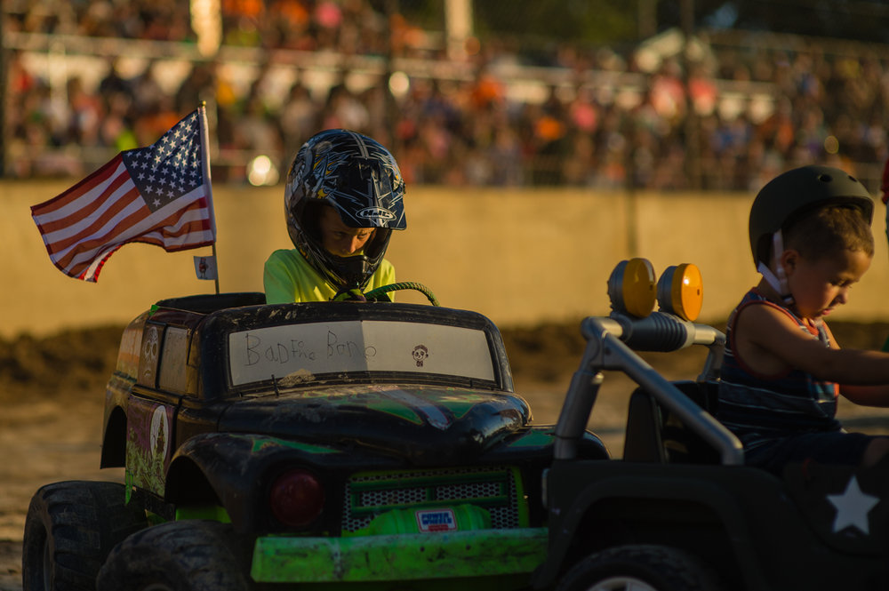 Future derby driver of America, Fremont, Ohio, 2016.