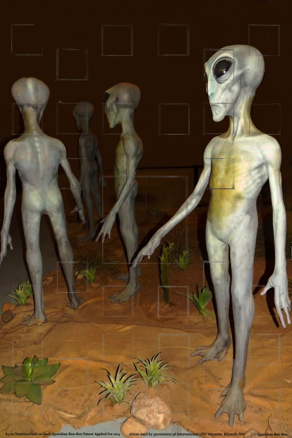 Photo: alien animatronics at the International UFO Museum, Roswell, NM by Quotidian Bon-Bon