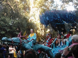 Jingle Jungle Parade in Animal Kingdom