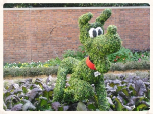 He's been demoted to topiary. Someone has to stop Neil DeGrasse Tyson before he demotes Goofy to actual dog.