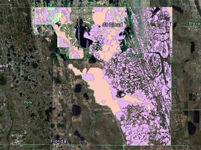 Osceola County Flood Hazard Map