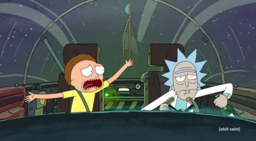 Rick and Morty, Adult Swim