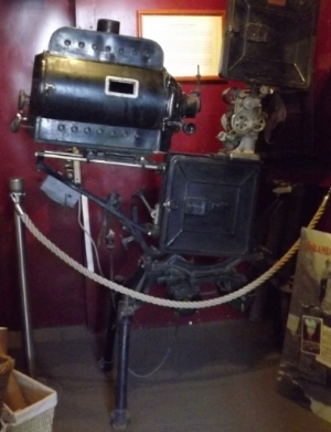 Movie Camera at Kolb Studios, Grand Canyon, AZ - author's collection
