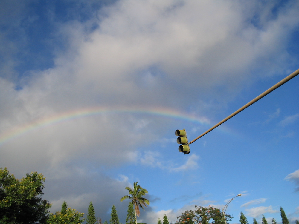 I love writing anything about gay pride. It gives me an excuse to repost my rainbow pics from Hawaii. This one was in Wahiawa about 2004.