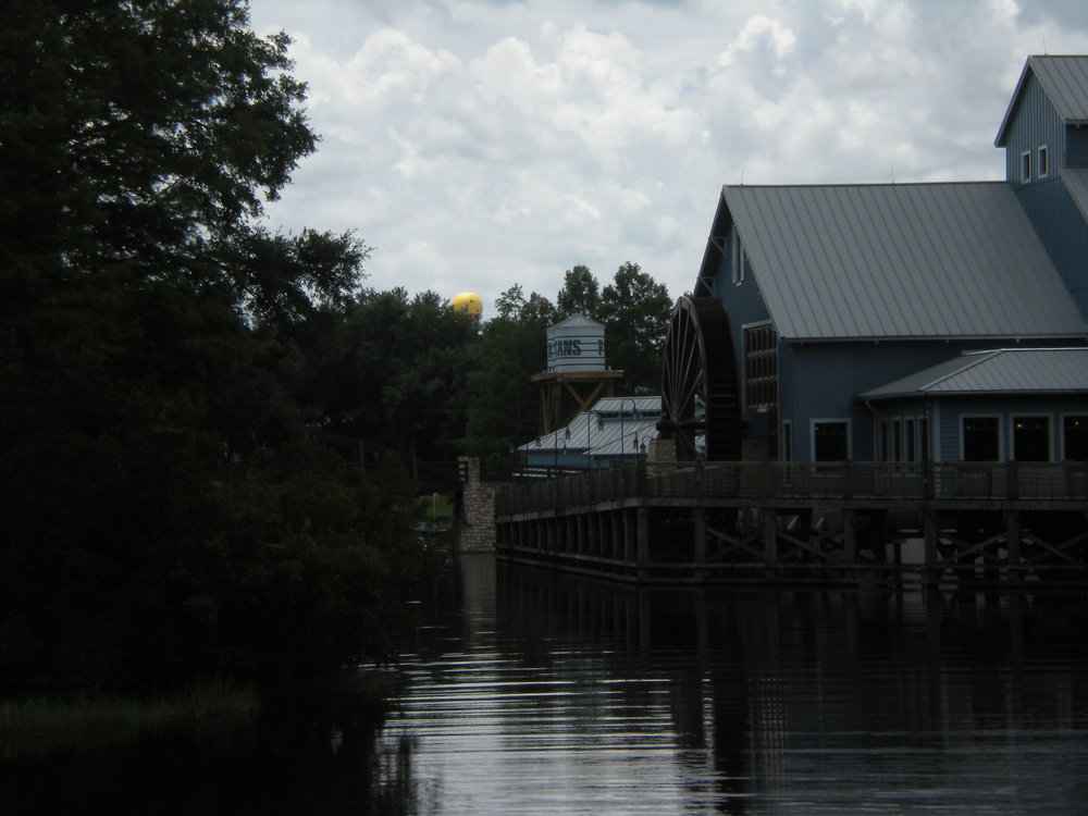 Disney's Port Orleans Riverside seen from the water - Author's collection