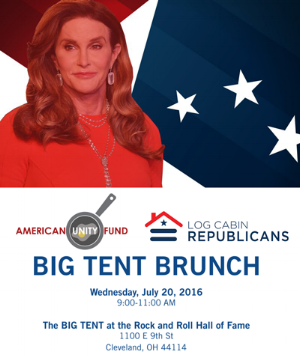 Log Cabin Republicans Event Advertisement