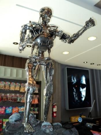 Terminator statue at Universal Studios, Florida