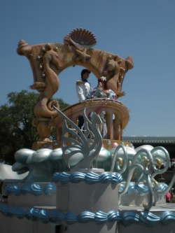 Ariel float, Magic Kingdom
