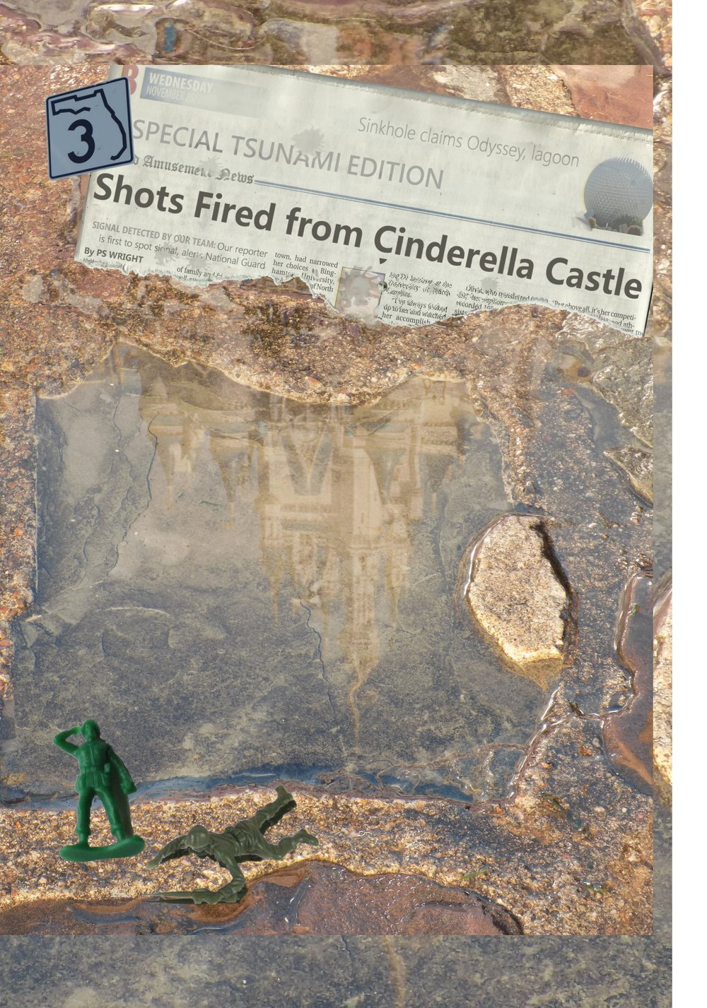 3 Shots Fired from Cinderella Castle