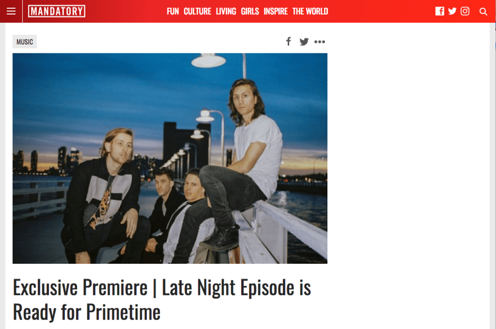 Late Night Episode